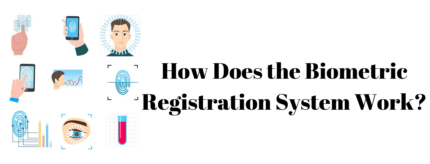 How does the biometric registration system work?