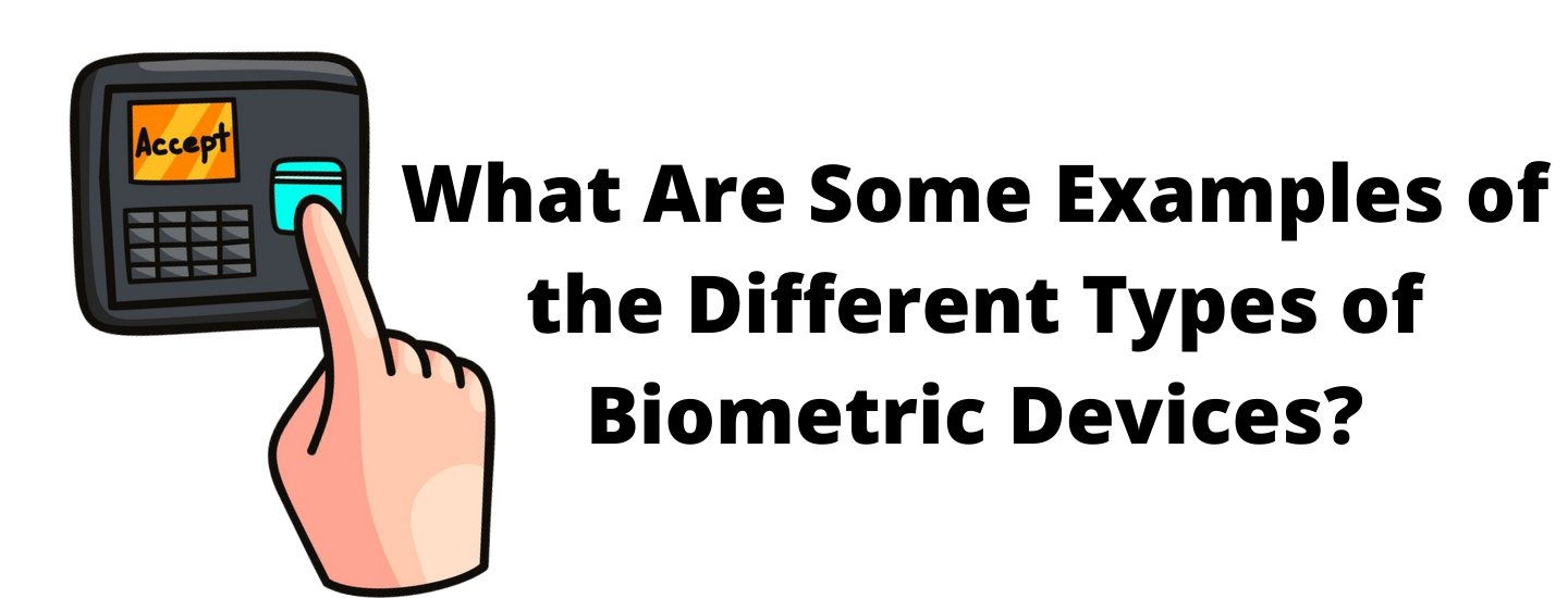 What Are Some Examples of the Different Types of Biometric Devices?
